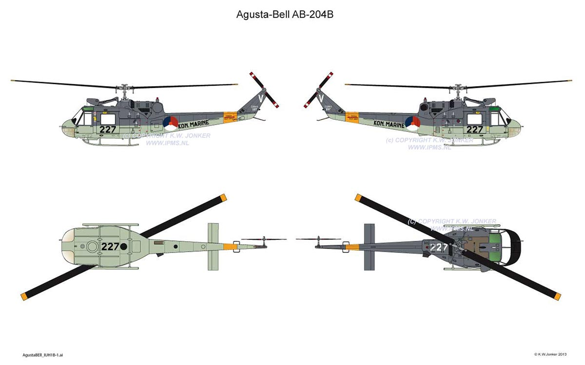 AgustaBell IUH1B 1