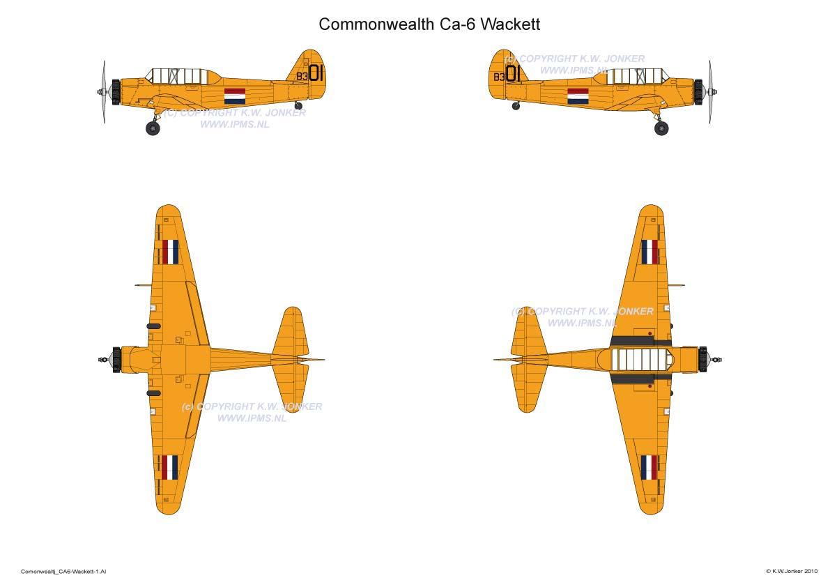 Commonwealth CA6 Wackett 1