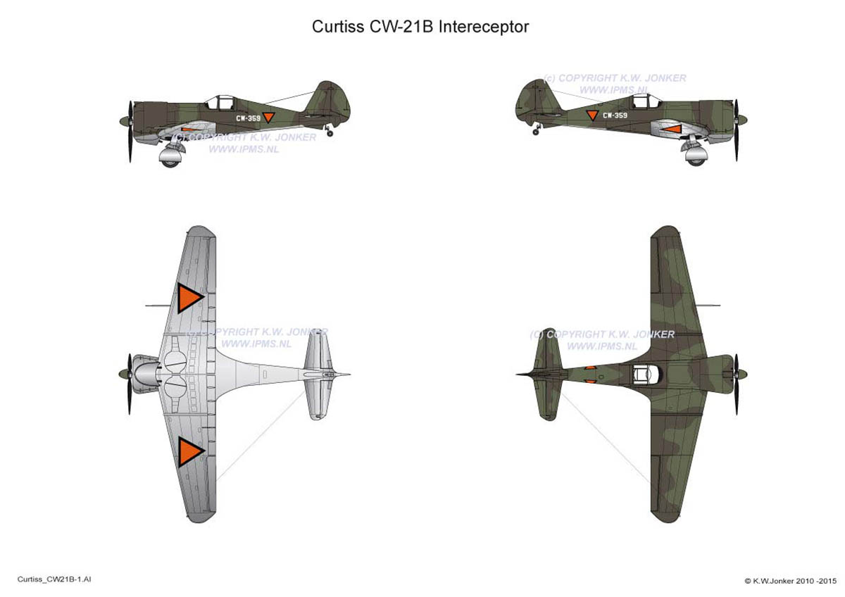 Curtiss Cw21B 1