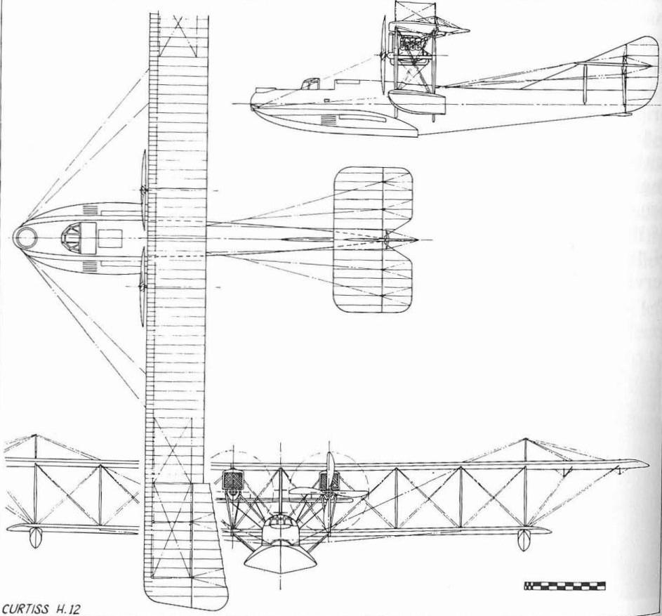 curtiss h12 drawing mdv