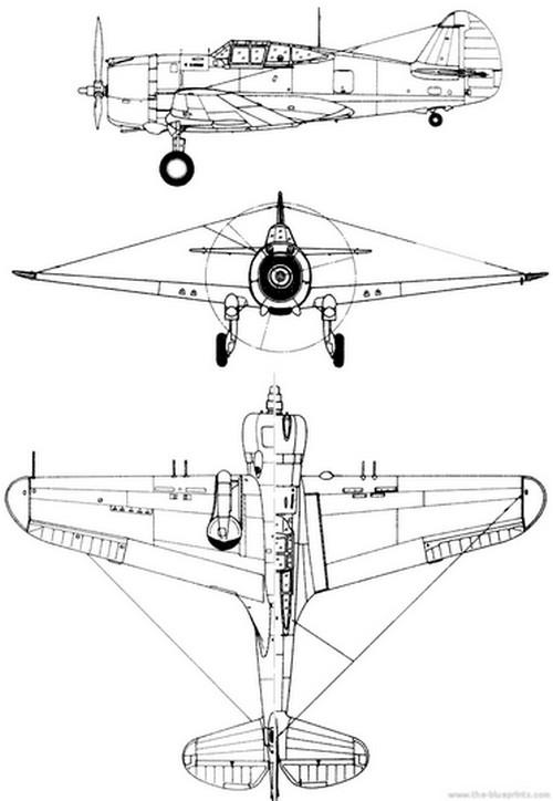 curtiss-75-p36-profile