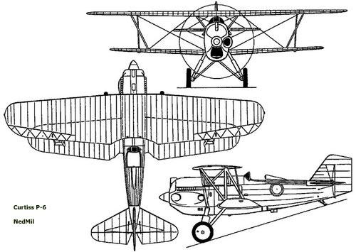 curtiss-p6-profile