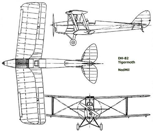 dehavilland-dh82-profile