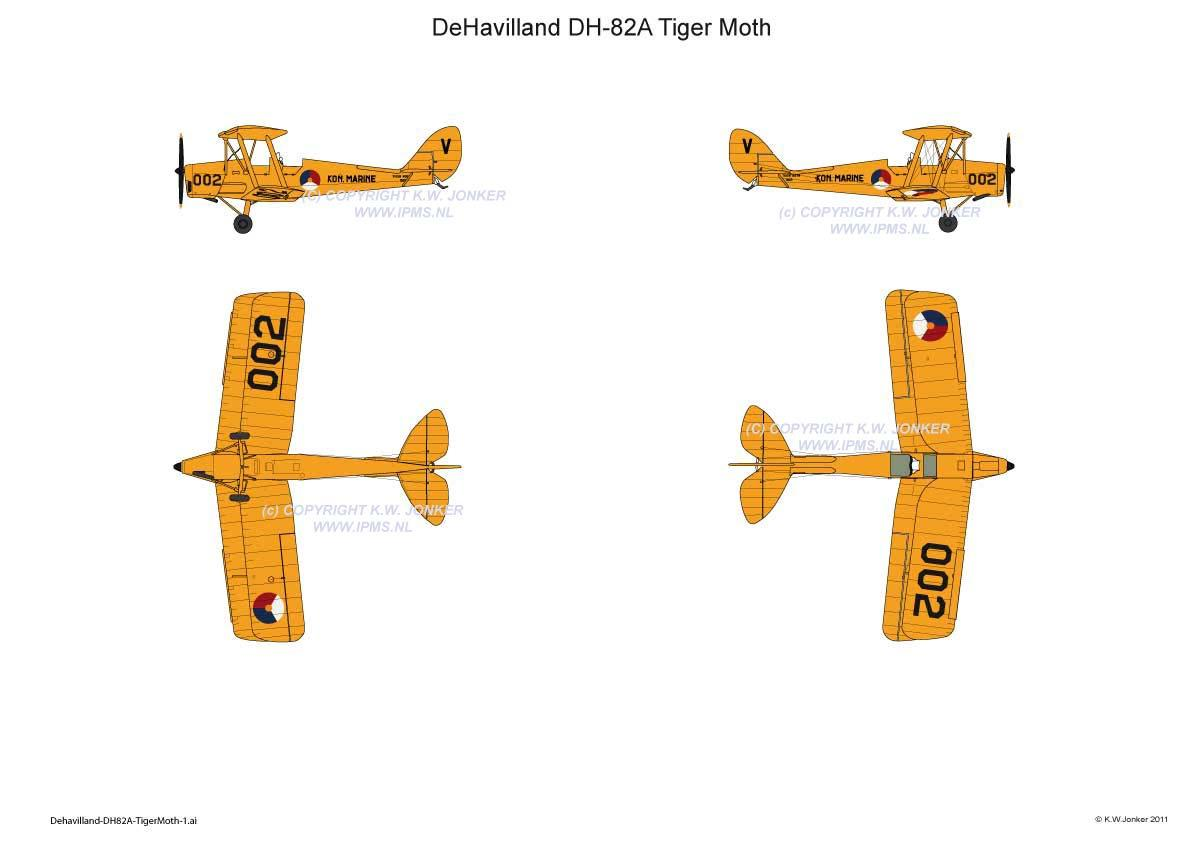 DeHavilland DH82A TigerMoth 1