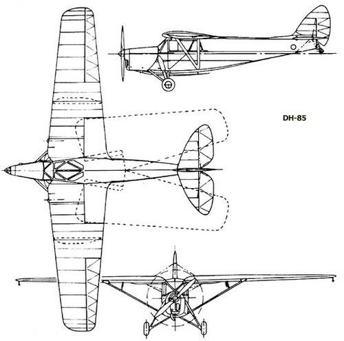 dehavilland-dh85-profile