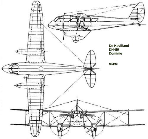 dehavilland-dh89-profile