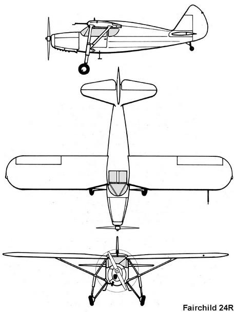fairchild-24-profile