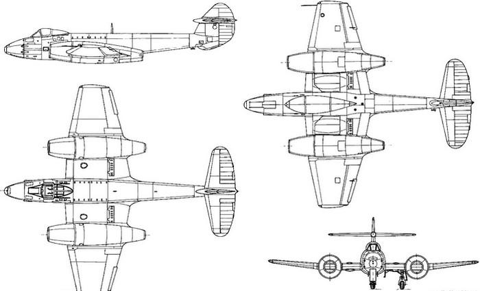 gloster-meteor-profile