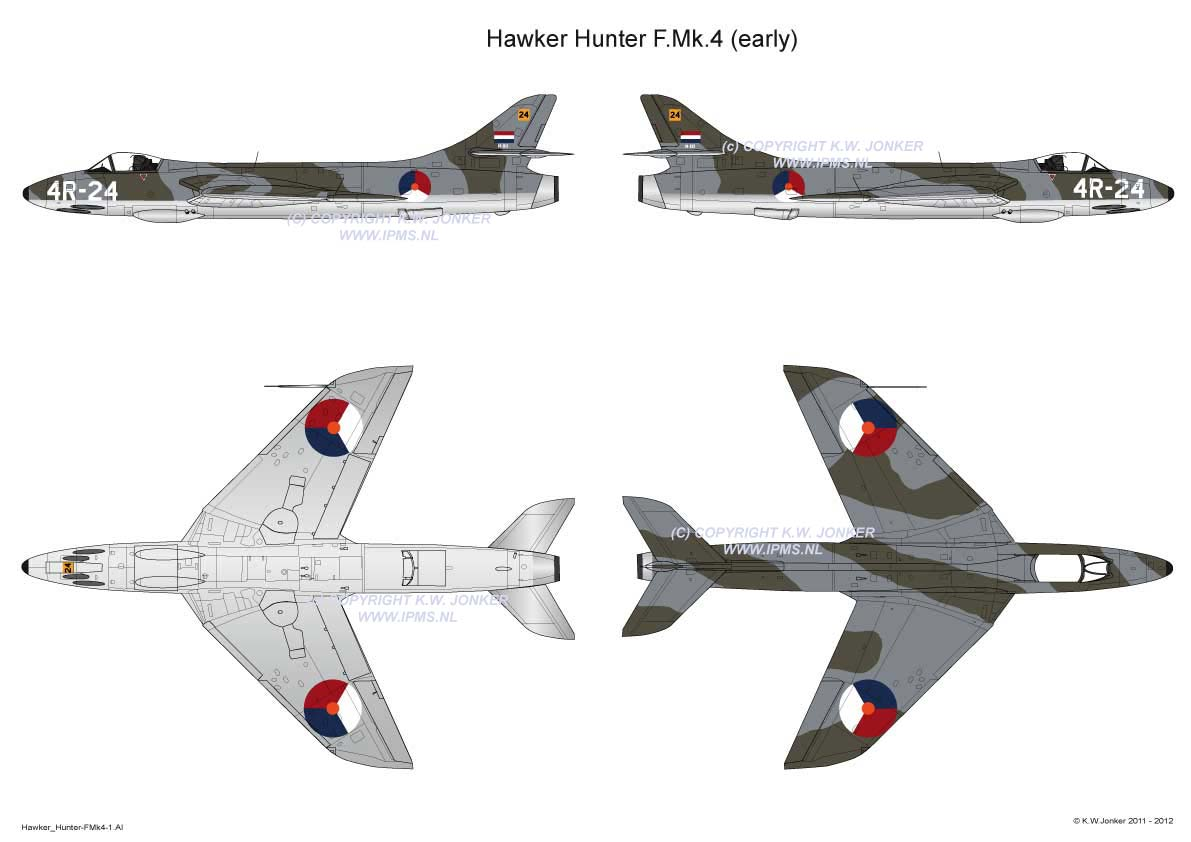 Hawker Hunter FMk4 1