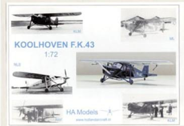 ha koolhoven fk43 72