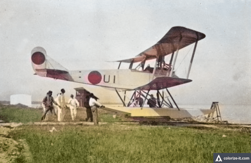 rumpler 6 5 colourized