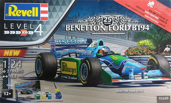revell benetton ford 1