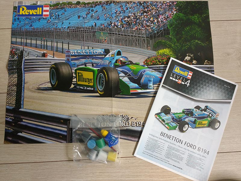 revell benetton ford 2