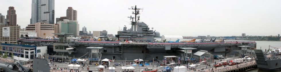 Deel 1. Intrepid Sea Air Space Museum