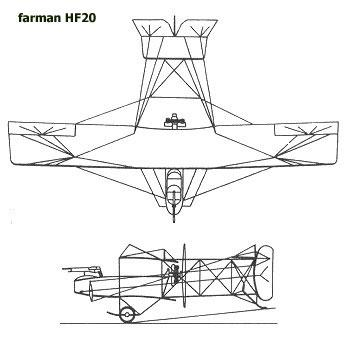 farman hf20 profile
