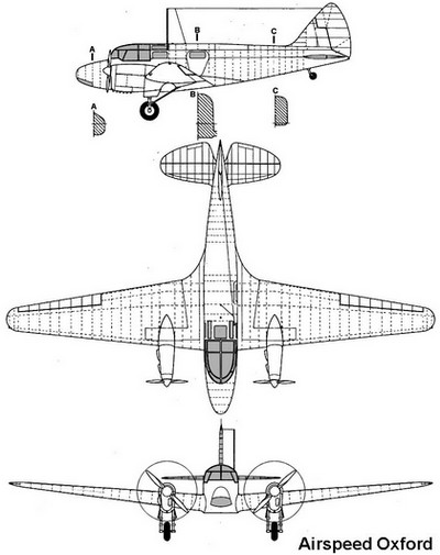 airspeed oxford profile