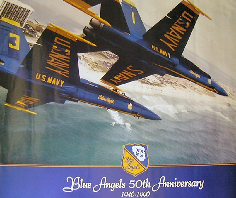 blue angels 50 years